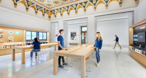 Како Foster + Partners ја сместиле новата Apple продавница во римска палата