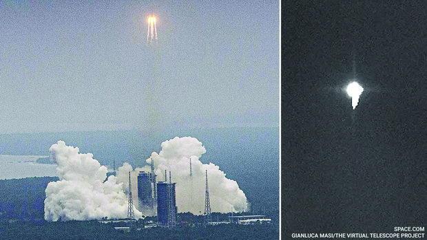 China-rocket-debris