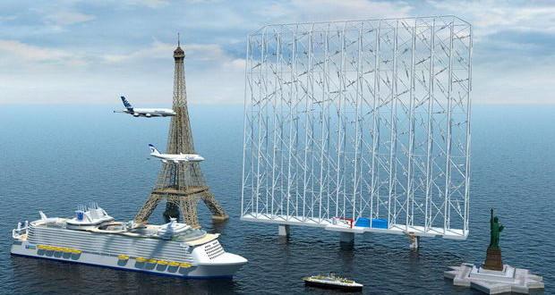 Пловна ветерна електрана висока 325 метри што ќе напојува 80 илјади домови