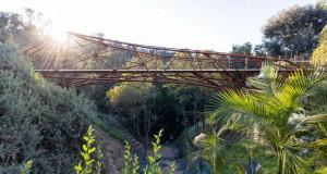 Со помош на робот направен челичен мост од 20 метри