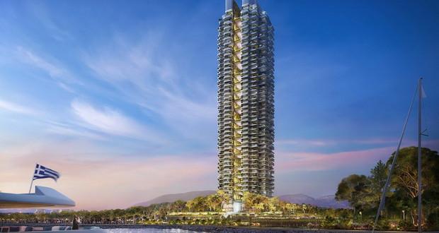 Foster + Partners го проектира новиот највисок облакодер во Атина