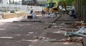 И ова е Скопје…ослободено шеталиштето на кејот пред ГТЦ