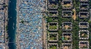 Фотографии од градови кои ја откриваат поделбата меѓу богатите и сиромашните