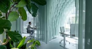 Канцеларија во Амстердам инспирирана од бранови