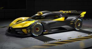Нов хиперавтомобил на Bugatti