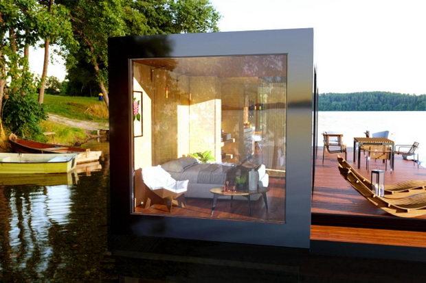 Стаклена куќа за подобра врска со природата