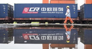 Товарните возови Кина-Европа реализираа над 10.000 патувања оваа година