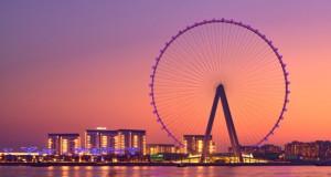 Во октомври, Дубаи го отвора најголемото панорамско тркало во светот