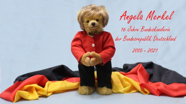 Фабрика за играчки произведе мече во чест на германската канцеларка