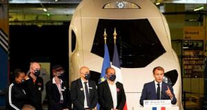 Макрон го претстави новиот субербрз и еколошки воз
