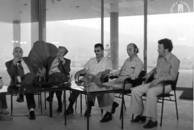 "Македонски архитекти на тема ""Македонска современа архитектура"", (архива 1975)"