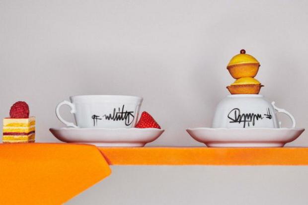Вирџил Абло и Ginori 1735 со минималистички сет за чај