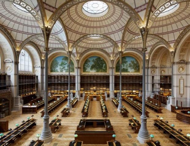 Како изгледа Националната библиотека во Париз по 10 години реновирање