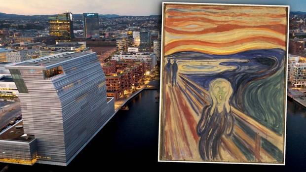 Легендарниот Едвард Мунк доби нов музеј во Осло