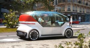 Volkswagen го претстави возилото на иднината – роботакси OnePod