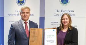 Виена е европски град на дрвјата за 2021 година