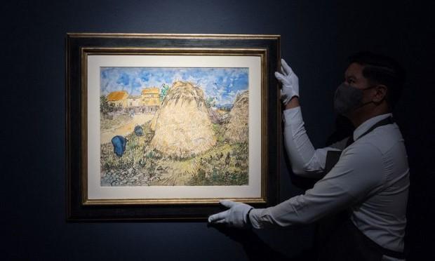 Слика на Ван Гог запленета од нацистите, наскоро на аукција